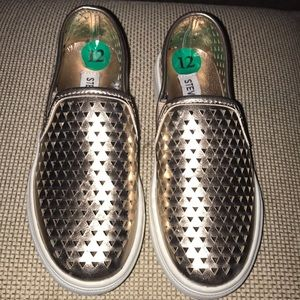 Brand new Steve Madden slip on sneakers size 12